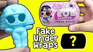 Fake LOL Under Wraps Jelly Layer Sürpriz Bebekleri | Bu Nasıl Kapsül Ayol? | Zep'in Oyuncakları