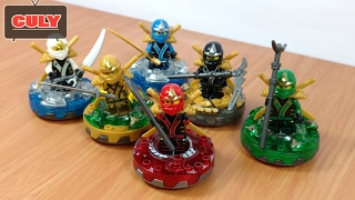 Trọn bộ 6 anh em Lego Ninjago đồ chơi trẻ em - brick toy for kids