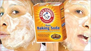 AMAZING BAKING SODA FACE MASK FOR YOUNGER BRIGHTER RADIANT GLOWING SKIN