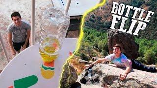 WATER BOTTLE FLIP | Impossible Trick Shots!