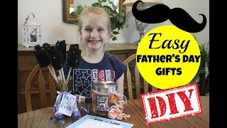 Easy DIY Father's Day Gifts