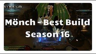 Mönch: Der beste Build für Season 16 (WoL Build, Patch 2.6.4)