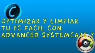 DESCARGAR ADVANCED SYSTEMCARE 7 FULL ESPAÑOL 2014