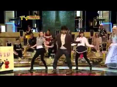 Kim Dongwan girl group dance