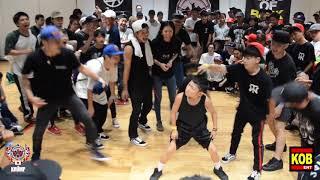 KIDS BEST 8 ③ Baby Street Beast vs Child Twiggz EBS JAPAN 2018 2018.08.05