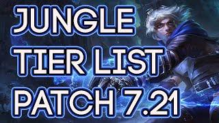 Jungle Tier List Patch 7.21   Best Junglers To Carry Solo Queue 7.21   LoL Tier List