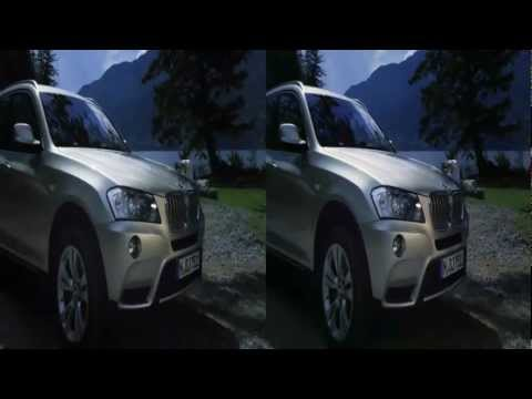 BMW X3 3D Commercial in 3D HD