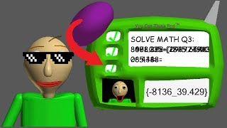 HOW TO ANSWER THE 3RD QUESTION CORRECTLY(Baldi's Basics){Read Description}[Mod]