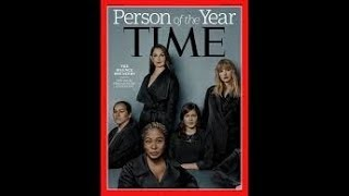 TIME MAGAZINE PERSON OF THE YEAR 2017 #ME TOO