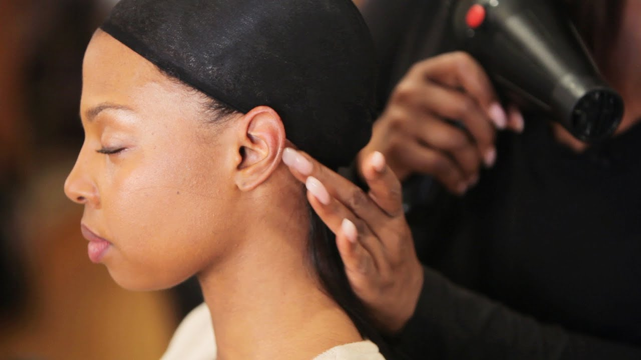 How To Glue In Hair Tracks For Weave