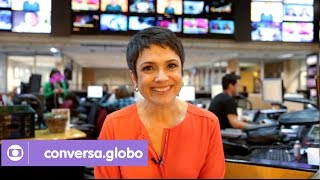 Mix Palestras | Sandra Annenberg responde a perguntas dos internautas