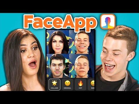 Teens vs. FaceApp (React)