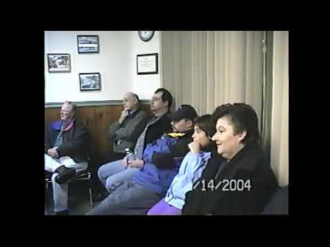 Champlain Village Board Meeting  12-14-04