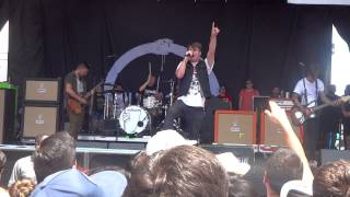 Silverstein - Broken Stars ( Live ) @ Vans Warped Tour  2015 San Antonio Tx