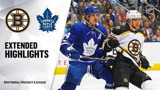 Boston Bruins vs Toronto Maple Leafs Oct 19, 2019 HIGHLIGHTS HD