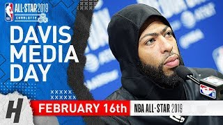 Anthony Davis on His Future - Full Interview | February 16, 2019 NBA All Star Media Day