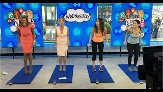 One Exercise to do Every Day as seen on Kathie Lee and Hoda on the Today Show