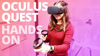 Oculus Quest Hands-On & Impressions – VR's Future Is Bright