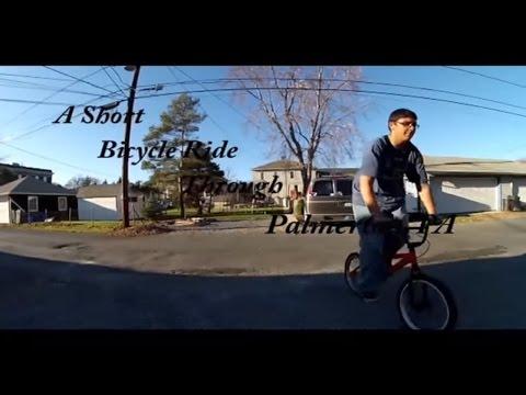 A Short Bicycle Ride Through Palmerton, PA