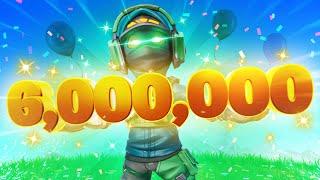 WE HIT 6,000,000 SUBSCRIBERS!