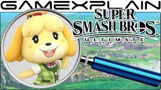 Super Smash Bros. Ultimate ANALYSIS -  Isabelle Reveal Trailer (Secrets & Hidden Details)