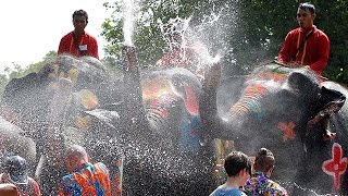 Thailand celebrates three-day Songkran festival