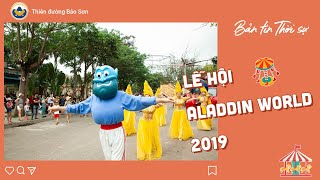 VTV1 Thời sự đưa tin lễ hội Aladdin World 2019 - Thiên Đường Bảo Sơn