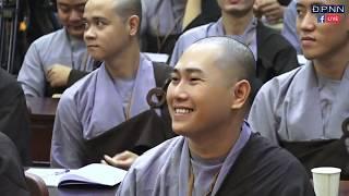 TT. Thích Thiện Thuận giảng tại khóa tu Xuất Gia Gieo Duyên tại chùa Giác Ngộ