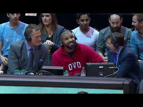 Drake Joins The Raptors Broadcast & Speaks On Summer 16 Song