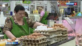 Цены на куриное яйцо в Омской области могут упасть уже в мае