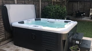 Hot Tub Setup - Americano Hot Tub