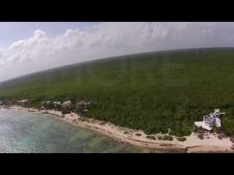 Tankah Bay, Beachfront lot for sale in Tulum