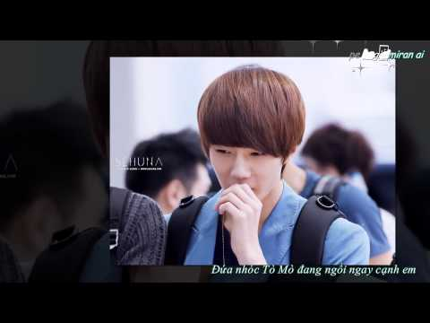[Vietsub+kara][Fanmade] EXO Sehun - Beautiful Stranger F(x)