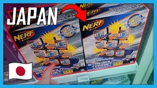 What's the Nerf Gun Selection like in Japan? | Japan Vlog
