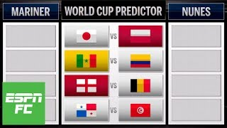 Predicting final day of group stage matches at 2018 World Cup: Belgium-England and more | ESPN FC