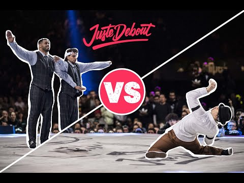 Juste Debout Popping Final 2018: Ness & Poppin C vs. Greenteck & Nelson