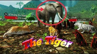 The Tiger / Online Real Tiger / Explore the wild jungle as a powerful tiger