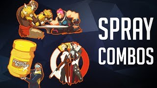 The Best Spray Combos [Overwatch]