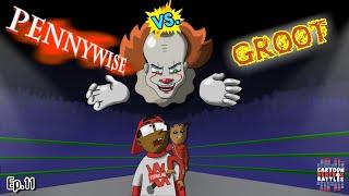 Pennywise Vs Groot - Cartoon Beatbox Battles