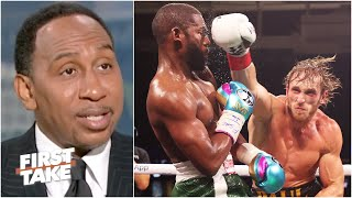 Stephen A. and Max react to Floyd Mayweather vs. Logan Paul | First Take