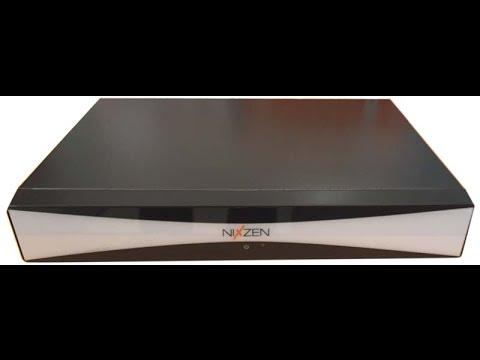 Grabador Digital Nixzen 16/8 canales AHD / Analogico / IP. DVR/NVR/HVR
