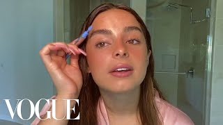 Addison Rae's Guide to Faux Freckles and a Go-To Glowy Makeup Look | Beauty Secrets | Vogue