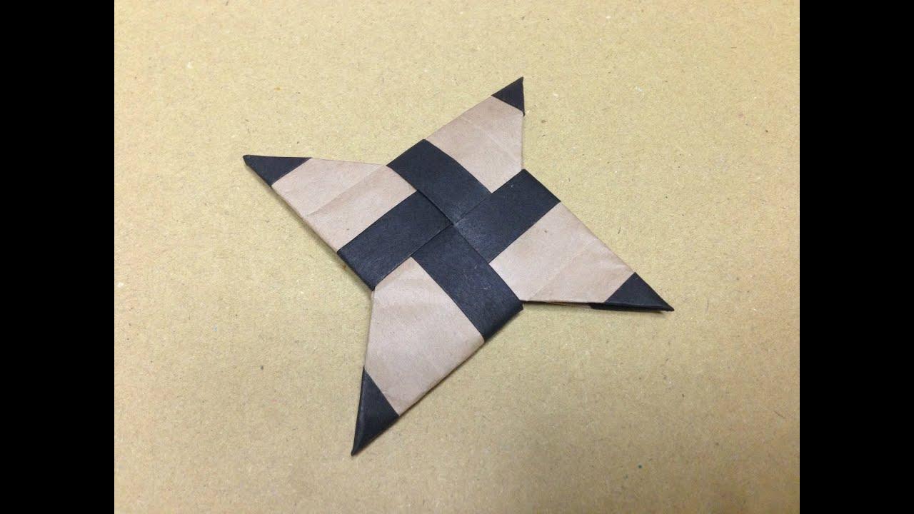 How To Make Origami Shuriken
