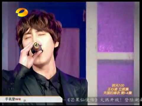 Super Junior-SJ M-到了明天(周覓走音.圭賢笑不停 厲旭幫圭賢接唱) [中文字幕]
