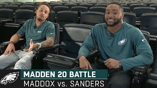 "Avonte Maddox & Miles Sanders Go Head-to-Head in Madden 20 ""Oh, it's a Dub!"" 