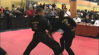 Self Defense Highlights from 2013 US Open orld Karate Tournament