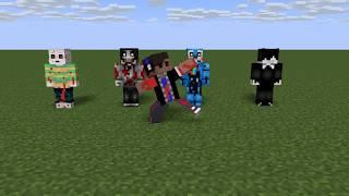 Minecraft animation Everybody Do The Flop by:LuigiIbanez1021