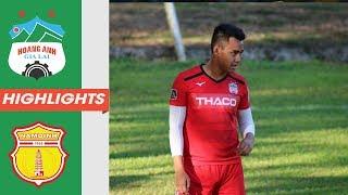 """Highlights   HAGL - DNH Nam Định   Steven Dang """"nổ súng"""", duy trì mạch bất bại   HAGL Media"""