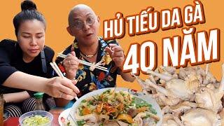 Food For Good #487: 40 năm hủ tiếu da gà chưa 1 ngày vắng khách