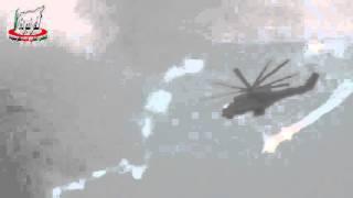 Trực thăng tấn công Mi 24 đối đầu trực tiếp IS